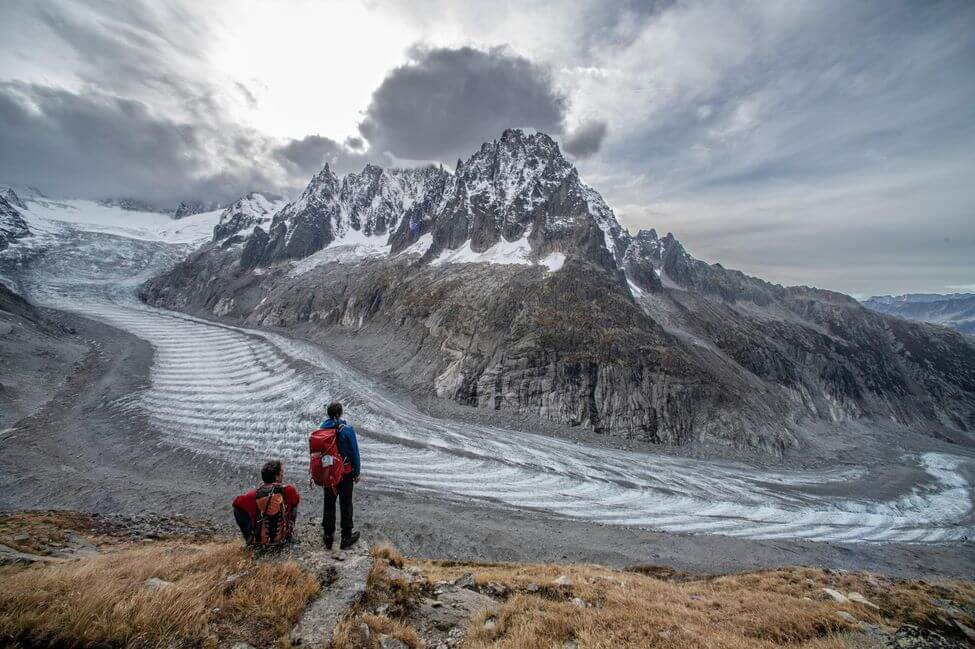 Mer de glace at Chamonix with TopOfEuropeOrganisation
